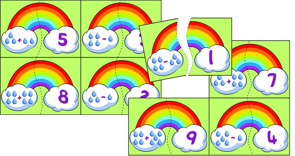 Printable Weather-Themed Math Worksheets for Kindergartners