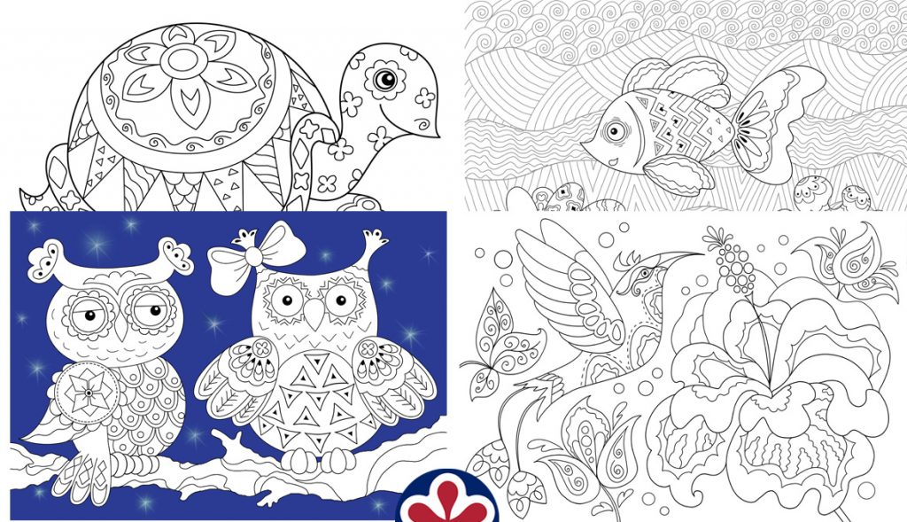 - Anti-Stress Coloring Pages For Kids. TeachersMag.com