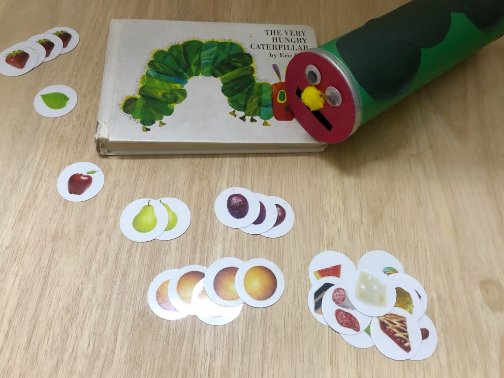 The Very Hungry Caterpillar Book Activity