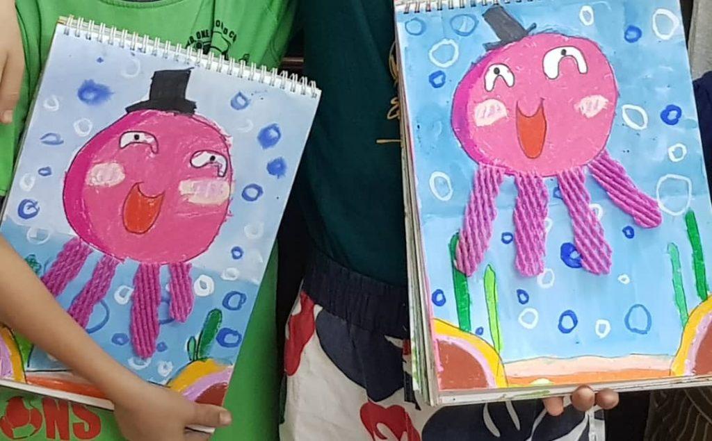Octopus Art and Craft