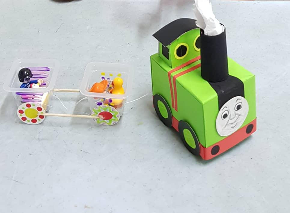 Transportation - Train Art and Craft
