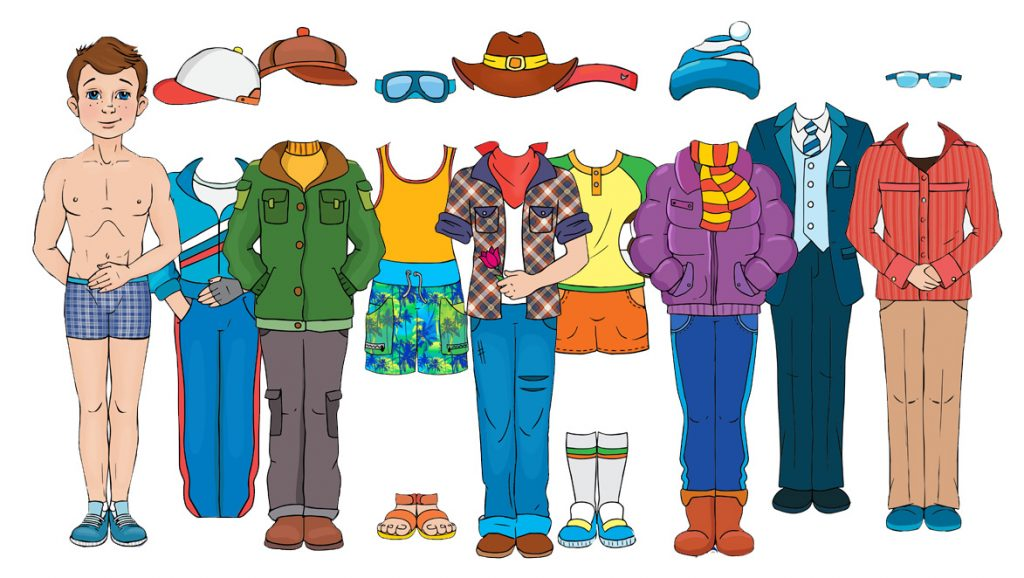 Free Printables For Making a Boy Paper Doll