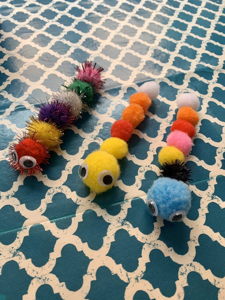 Caterpillar Math Activity for Kids