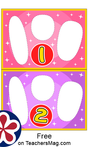Dental-Themed Printable Counting Activity