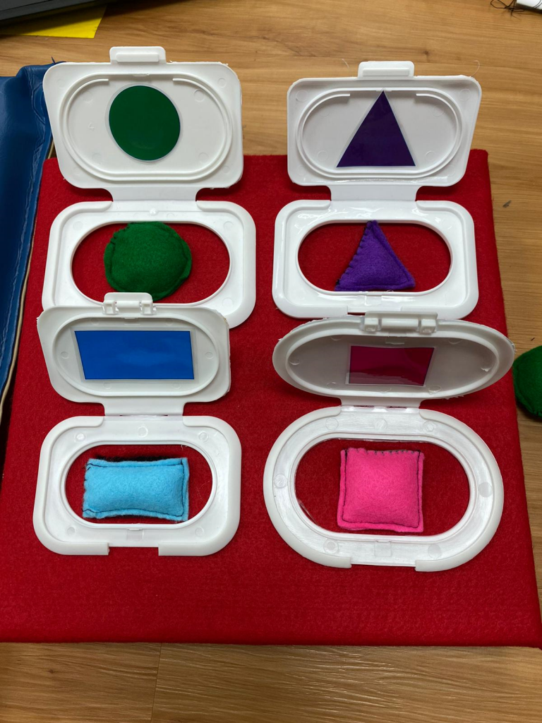 Shape and Colour Sorter