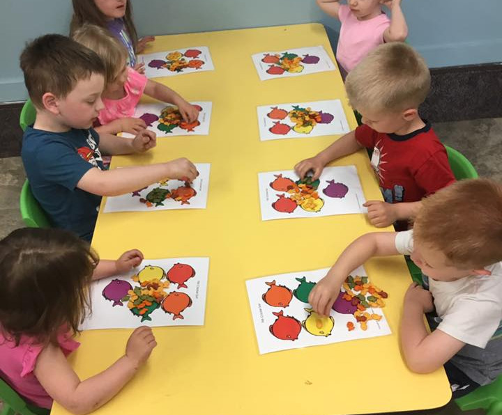 Snack-Sorting Activity for Kids