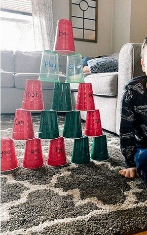 Cup Stacking Activity