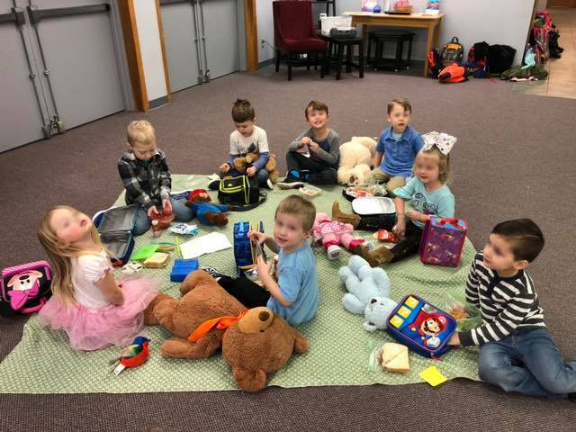 Teddy Bear Picnic Sharing Activity for Kids