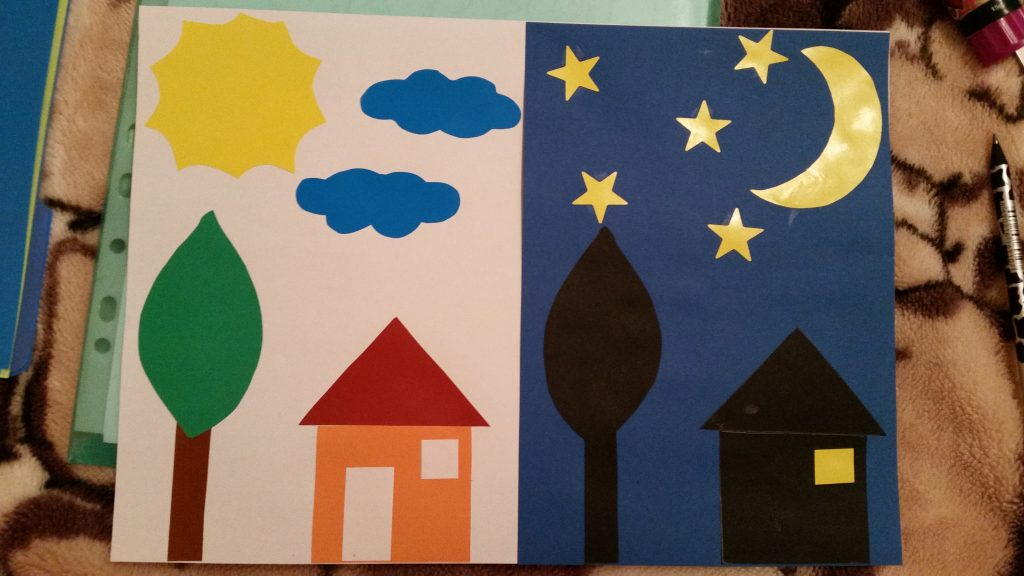 Day and Night, Practical Activity