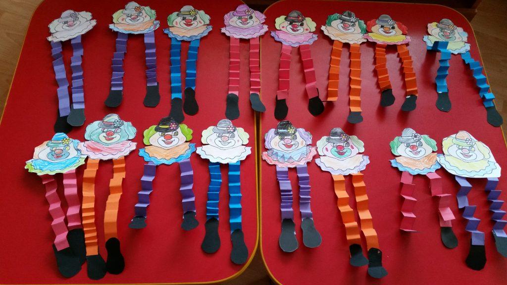 The Happy Clown Paper Craft for Preschoolers