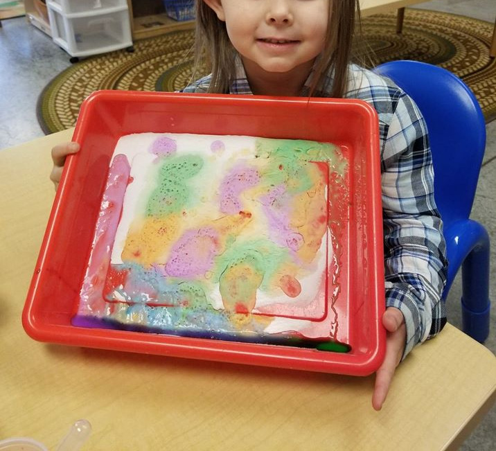 Colorful Chemical Reactions Activity