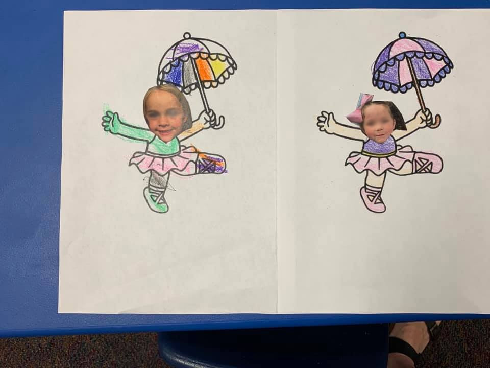 Spring and Summer Rain-Showers Craft Activity