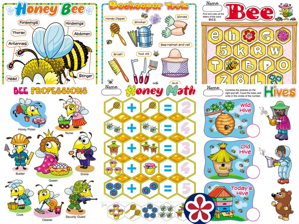 Bee Worksheets