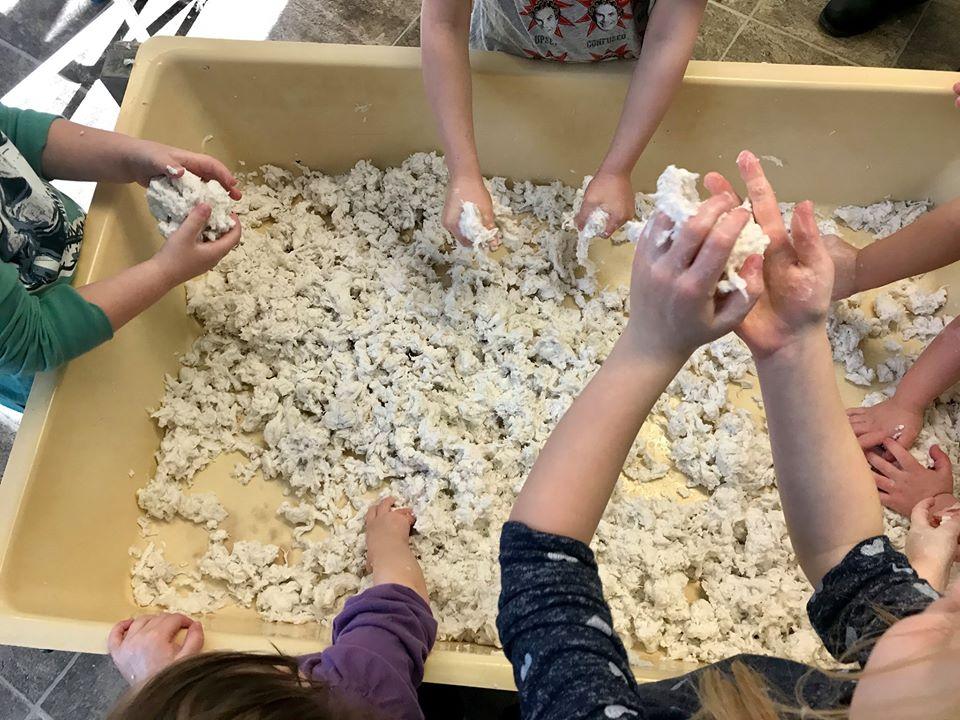 """Making, """"Clean Mud,"""" With Preschoolers"""
