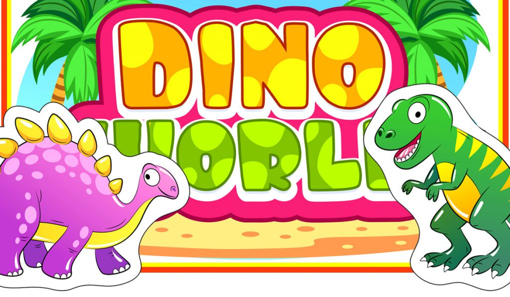 """Dino World,"" Printable Book for Preschoolers"