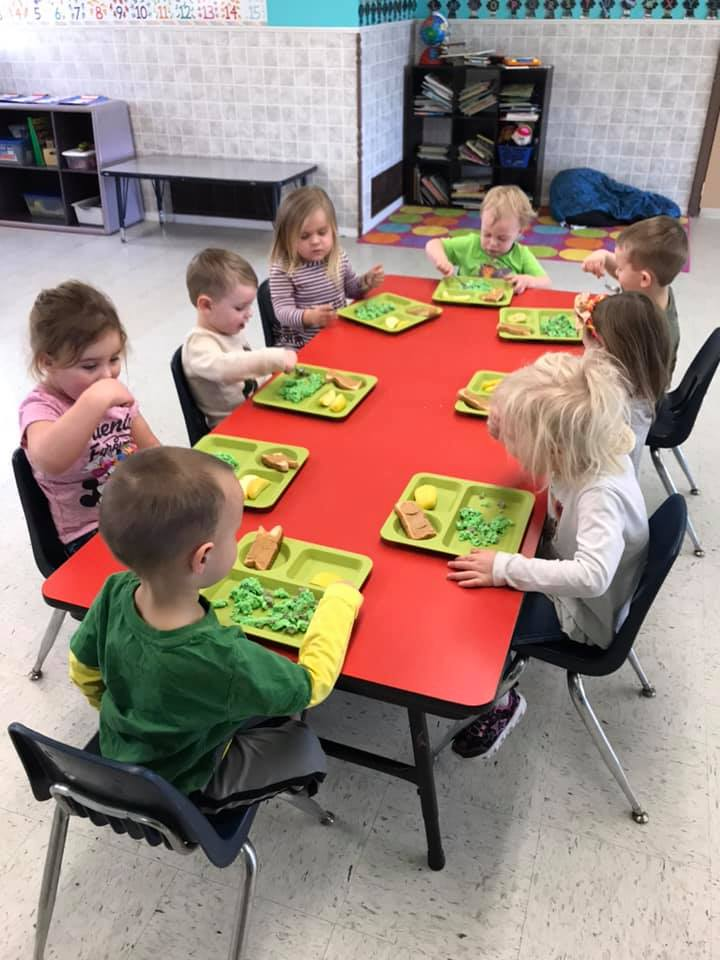 Making Green Eggs and Ham Cooking Activity