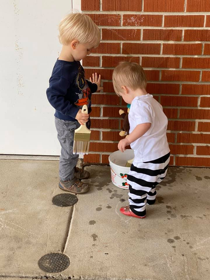 """""""Painting,"""" Bricks for Toddlers"""