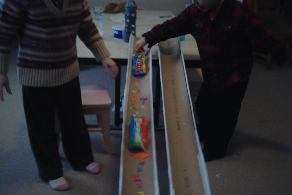Friction Demonstrating Activity For Kids