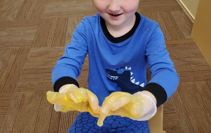 Learning About Handwashing Activity