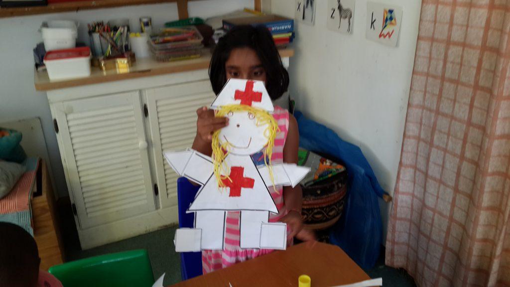 Nurse Shapes Craft