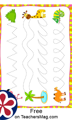 African-Themed Worksheets for Preschool