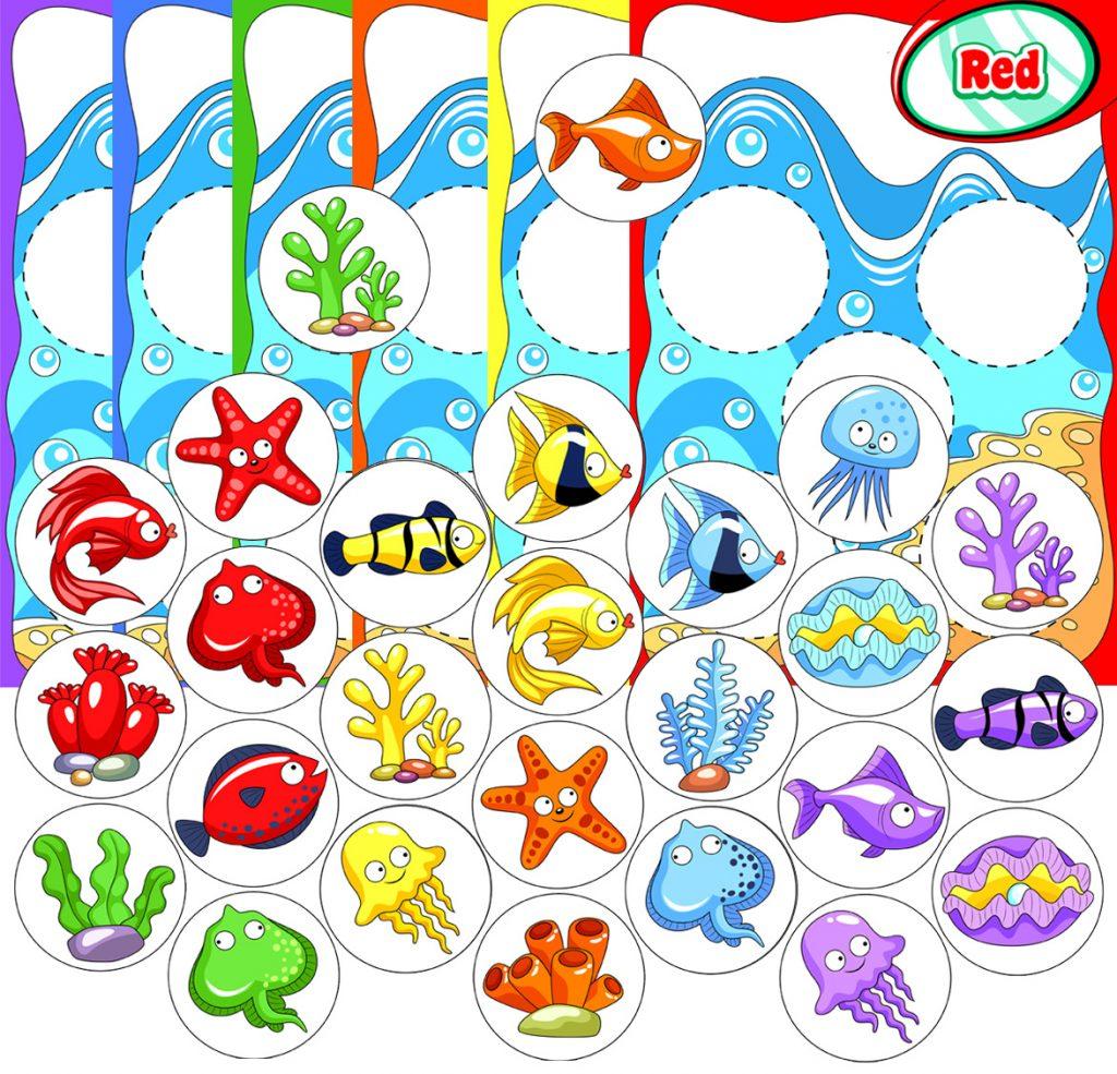Ocean Color Bingo