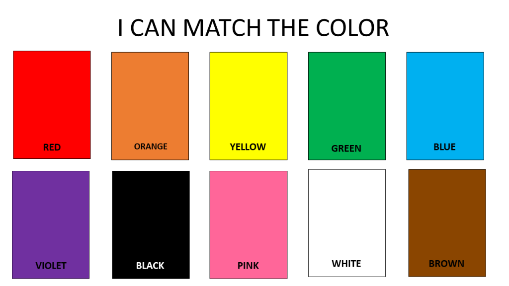 I Can Match the Color