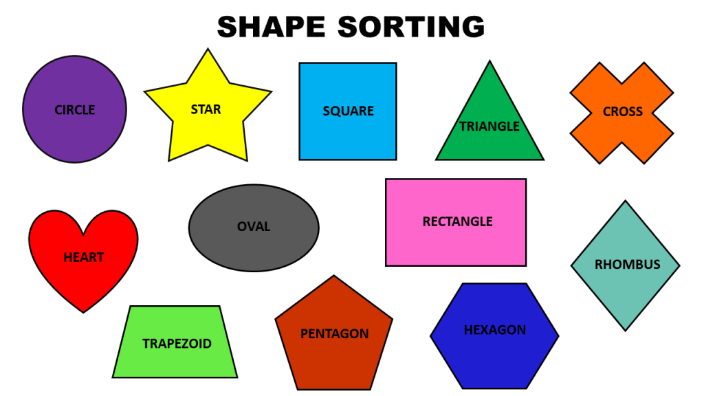 Super Simple Shape Sorting Activity!