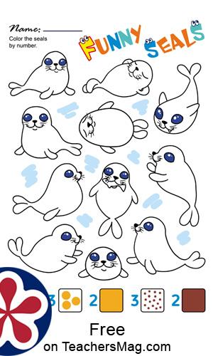Arctic Animals Worksheets for Preschoolers