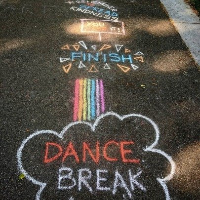 Sidewalk Chalk Activities for Kids
