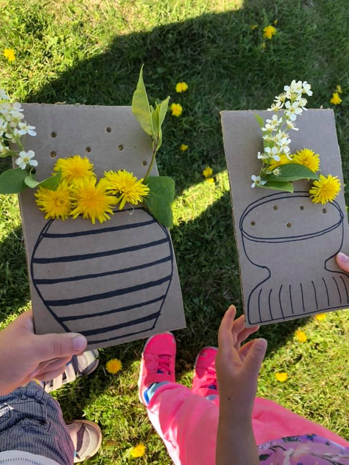 Flower Decorating Activity for Kids