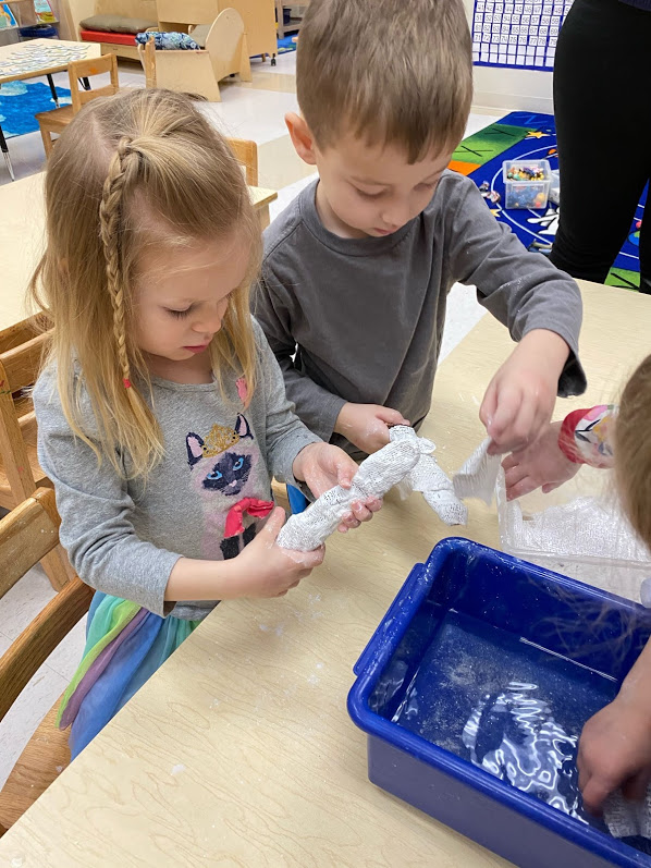 Paper Mache Mummy Wrapping Activity