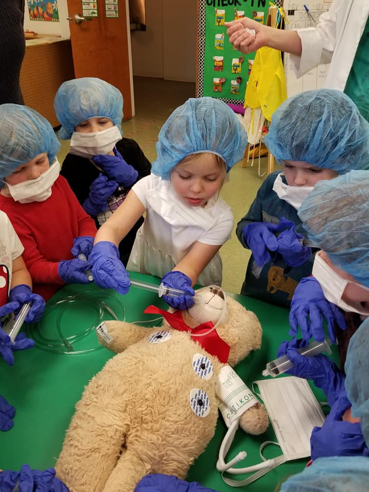 Pretend Surgery Activity for Kids to Learn About Hygiene
