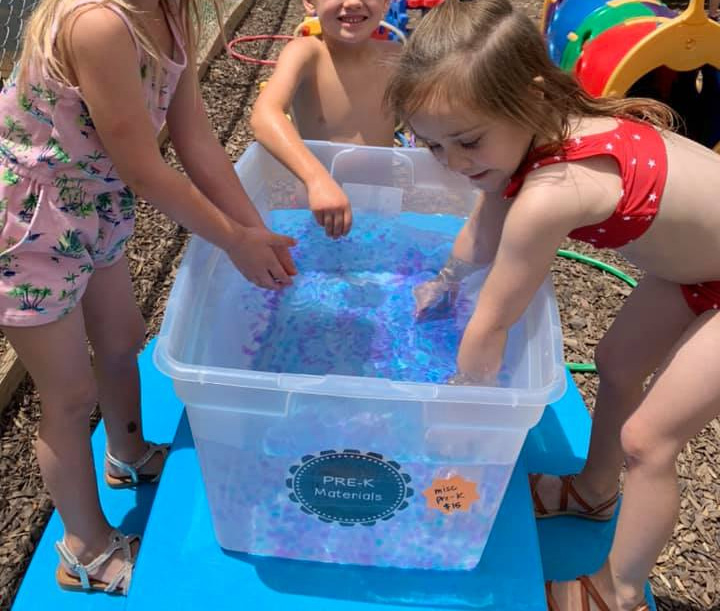 Assorted Outdoor Water Play Ideas