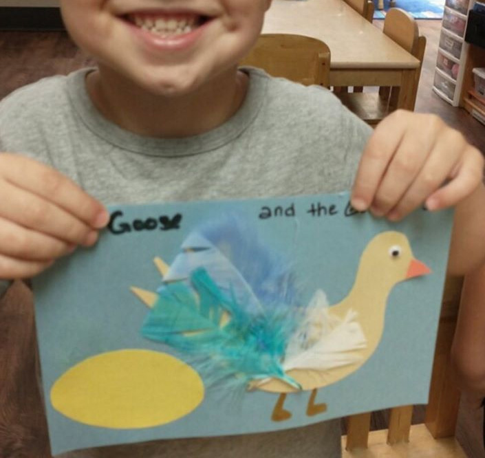 Goose With The Golden Egg Craft