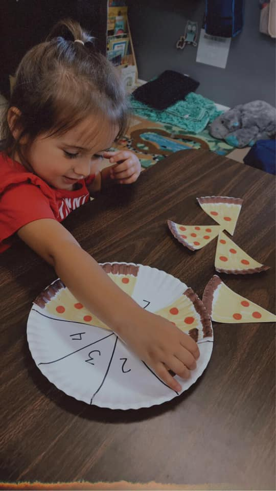 Pepperoni Pizza Counting Game